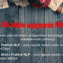 Skorzystaj z mikołajkowych cen Polskiego Instytutu NLP